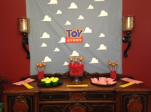 Toy Story sideboard