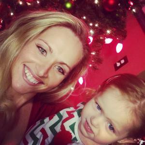 Christmas in July selfie.