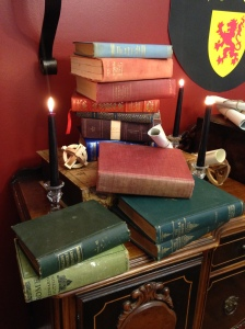 Old books from Merlin's Lair.