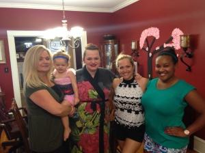 Ping. Mulan and the girls.