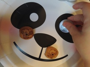 The cookies from World Market were so cute! They had little pandas printed on them.