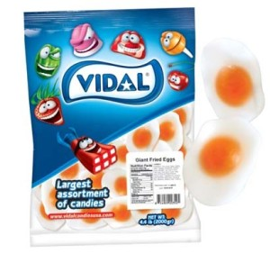 What is the world coming to?! Fried egg gummies...