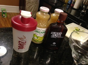 Nothing like making a margarita with my Zeal Wellness shaker. Whatever works, right?