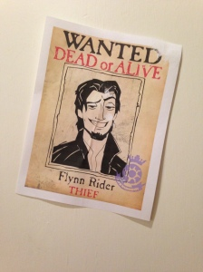 We even put the Wanted poster everywhere.