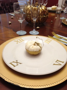 Cinderella place-setting