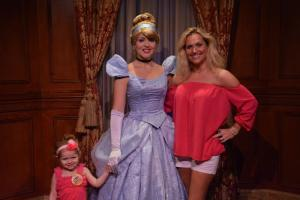Jacs, Cinderella and Mommy.