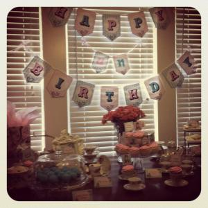 Jaclynn's 6 Month Unbirthday Party