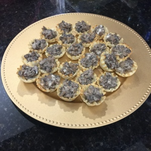 Mushroom tartlets